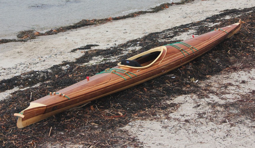 Wooden Boats For Sale Wood Strip Sea Kayaks And Canoes