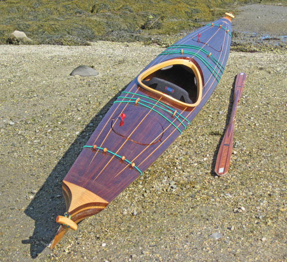 Wood strip kayak design software ~ Nice boat