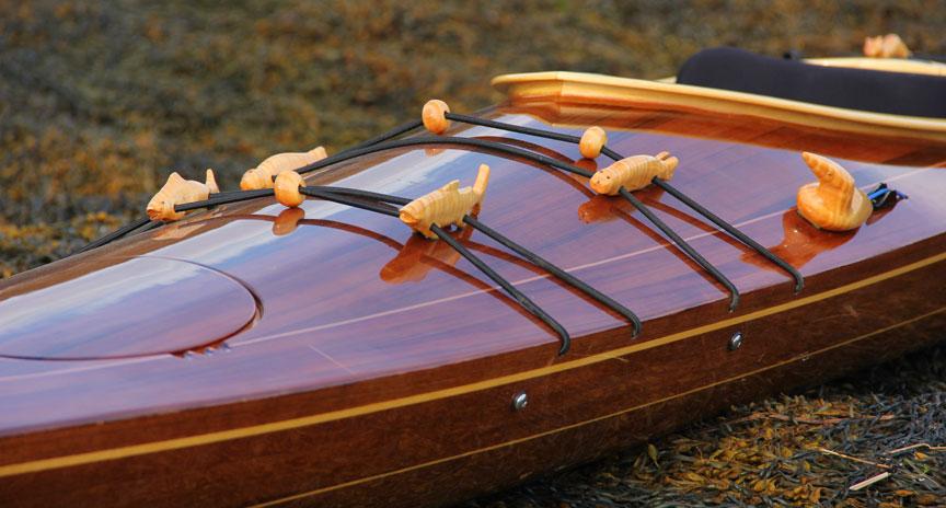 Ootek - West Greenland style wood strip sea kayak ...