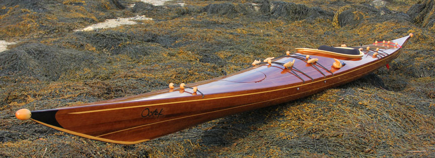 Laughing Loon Wood Strip Sea Kayaks
