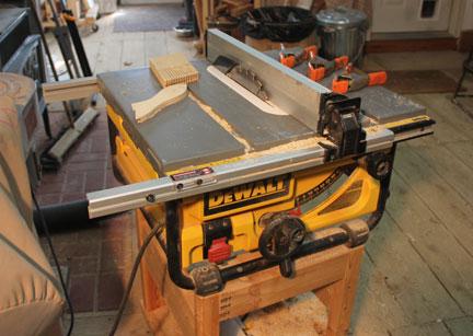 Hand Beveling Wood Strips For Wood Kayak Canoe Tablesaw