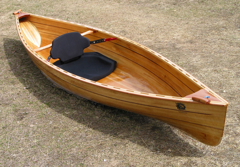 laughing loon wooden strip built kayaks and canoes wooden